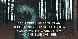 CRISIS OF FAITH INSERT